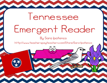 "Emergent Easy Reader Book: ""Tennessee"""