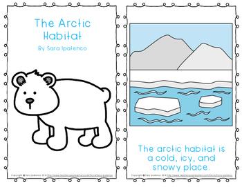 "Emergent Easy Reader Book: ""The Arctic Habitat"""