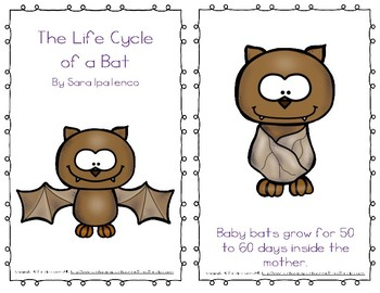 "Emergent Easy Reader Book: ""The Life Cycle of a Bat"""