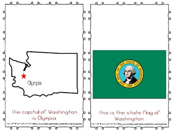 """Emergent Easy Reader Book: """"Washington"""""""