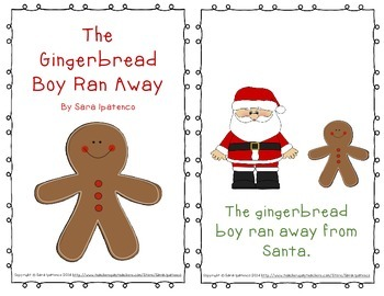 Emergent Easy Reader Book Bundle: Christmas Theme