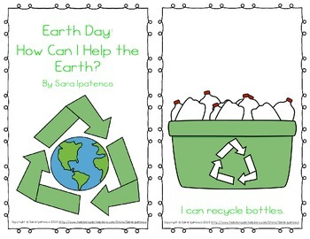 Emergent Easy Reader Book Bundle: Earth Day Theme