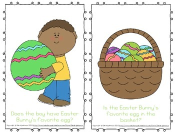 Emergent Easy Reader Book Bundle: Easter Theme