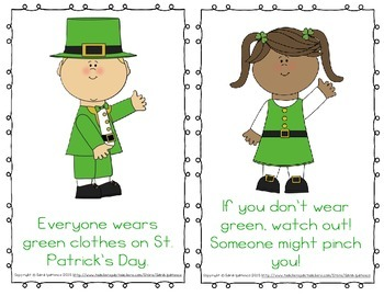Emergent Easy Reader Book Bundle: St. Patrick's Day Theme