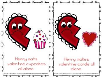 Emergent Easy Reader Book Bundle: Valentine's Day Theme