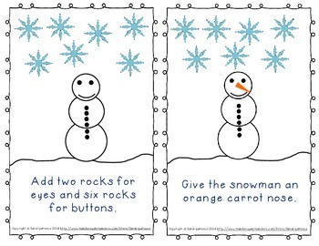 Emergent Easy Reader Book Bundle: Winter Theme
