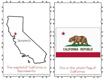 "Emergent Easy Reader Book: ""California"""