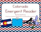 """Emergent Easy Reader Book: """"Colorado"""""""
