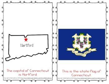 "Emergent Easy Reader Book: ""Connecticut"""