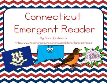 "Emergent Easy Reader Book: ""Connecticut"""