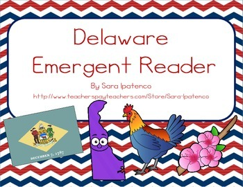 "Emergent Easy Reader Book: ""Delaware"""