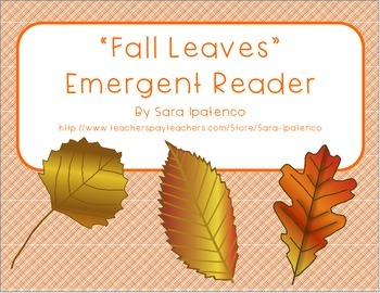 """Emergent Easy Reader Book: """"Fall Leaves"""""""