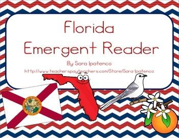 "Emergent Easy Reader Book: ""Florida"""