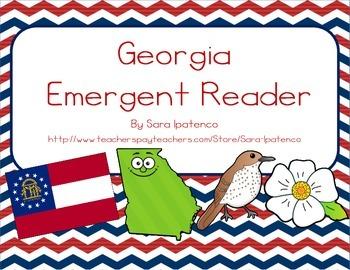 "Emergent Easy Reader Book: ""Georgia"""