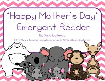 """Emergent Easy Reader Book: """"Happy Mother's Day!"""""""