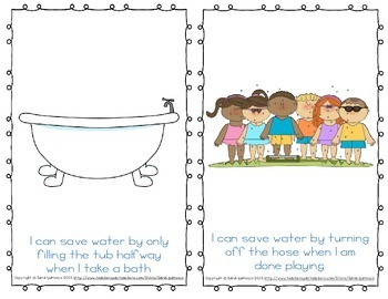 "Emergent Easy Reader: ""I Can Save Water"""