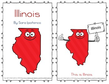 "Emergent Easy Reader Book: ""Illinois"""