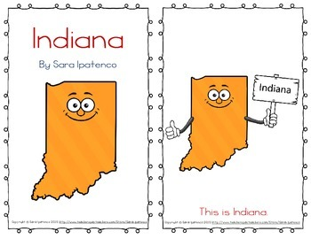 "Emergent Easy Reader Book: ""Indiana"""