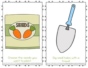 "Emergent Easy Reader: ""Let's Plant a Garden!"""