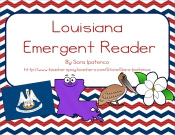 "Emergent Easy Reader Book: ""Louisiana"""