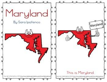 "Emergent Easy Reader Book: ""Maryland"""