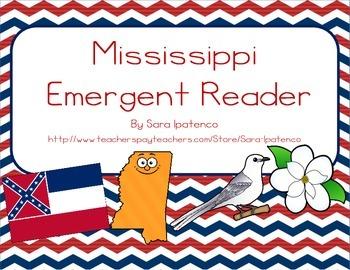 """Emergent Easy Reader Book: """"Mississippi"""""""