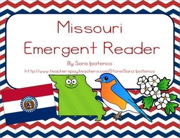 """Emergent Easy Reader Book: """"Missouri"""""""