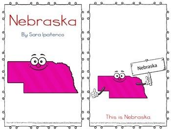 """Emergent Easy Reader Book: """"Nebraska"""""""