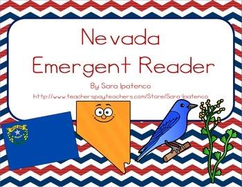 "Emergent Easy Reader Book: ""Nevada"""
