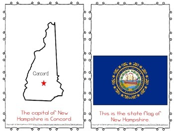 "Emergent Easy Reader Book: ""New Hampshire"""