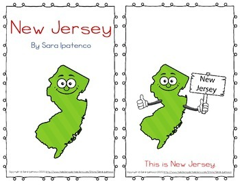 "Emergent Easy Reader Book: ""New Jersey"""