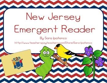 "Emergent Easy Reader Book: ""New Jersey"""