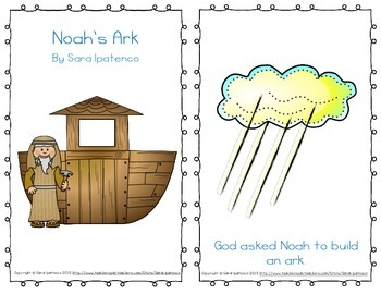 "Emergent Easy Reader Book: ""Noah's Ark"""