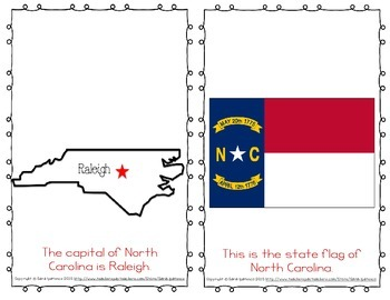 "Emergent Easy Reader Book: ""North Carolina"""
