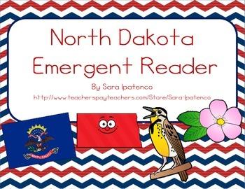 """Emergent Easy Reader Book: """"North Dakota"""""""