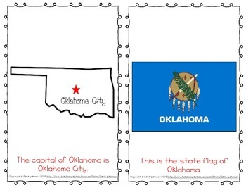 "Emergent Easy Reader Book: ""Oklahoma"""