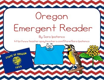 "Emergent Easy Reader Book: ""Oregon"""