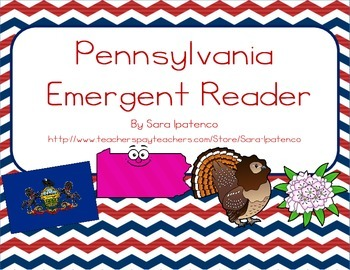 "Emergent Easy Reader Book: ""Pennsylvania"""