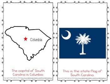 "Emergent Easy Reader Book: ""South Carolina"""