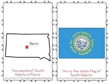 "Emergent Easy Reader Book: ""South Dakota"""