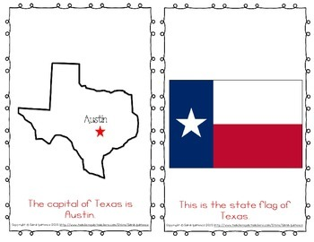 "Emergent Easy Reader Book: ""Texas"""