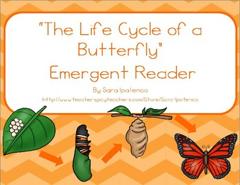 "Emergent Easy Reader Book: ""The Life Cycle of a Butterfly"""