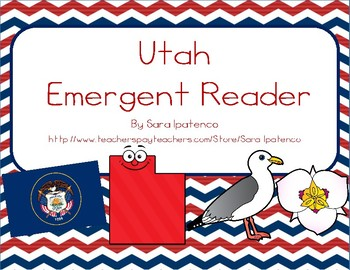 "Emergent Easy Reader Book: ""Utah"""