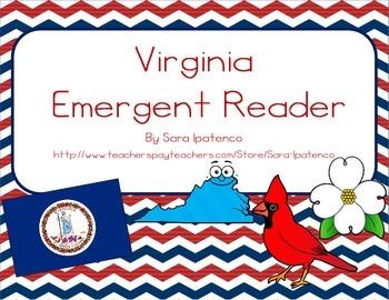 "Emergent Easy Reader Book: ""Virginia"""