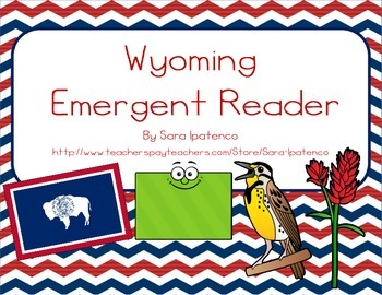 "Emergent Easy Reader Book: ""Wyoming"""