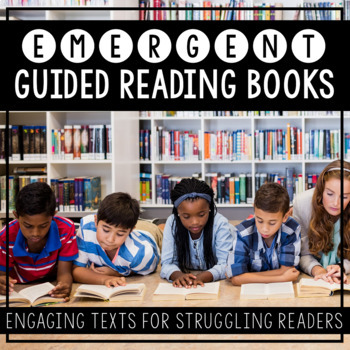Emergent Guided Reading Books