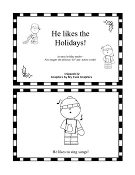 Emergent Holiday Readers