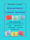 Emergent Level Books and Lesson Plans - Guided Reading Set B