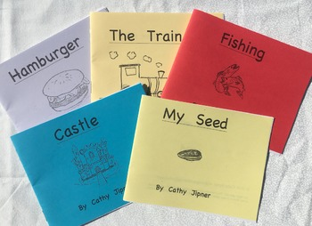 Emergent Level Books and Lesson Plans - Guided Reading Set C