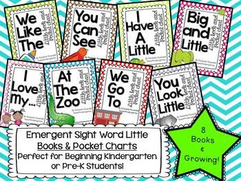 Emergent Pocket Chart Stories and Little Books Bundle